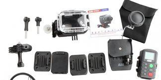 Skiinfo tester: AEE Actioncam S70