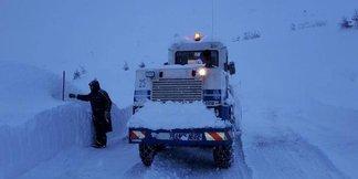 Raport śniegowy: ogromne masy śniegu we Francji, zima w Europie mocno trzyma - ©Facebook Piau-Engaly