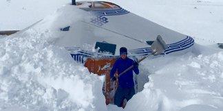 Raport śniegowy: gwałtowny powrót zimy zapewnił białą Wielkanoc na stokach - ©Chalet de la Marine Val Thorens