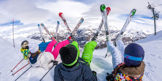 Family ski guide - ©Office de Tousrisme de Val d'Allos