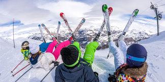 Family ski guide - ©Office de Tousrisme de Val d'Allos