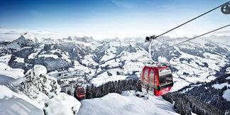 Her kan du oppleve vårski i Alpene - ©Kitzbüheler Alpen Marketing