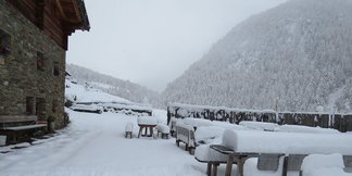 Dove andare a sciare a novembre? - ©Rableid Alm- Malga Rableid Facebook