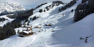 Schneebericht: Viel Schnee in den Südalpen, Warmfront am Wochenende - ©Facebook Hochkönig