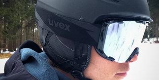 Test: Uvex P1us Pro und Uvex Snowstrike LTM Black - ©Skiinfo