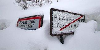 Raport śniegowy: wiosny na razie w Europie nie widać, mnóstwo śniegu w południowych Alpach! - ©La Plagne facebook