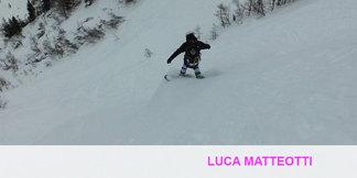 Un tuffo in neve fresca all'ombra del Bianco - ©La Stampa