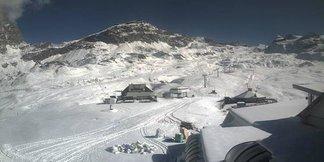 Snowiest ski resort of the week - ©Cervinia webcam