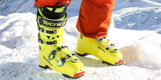 Vier Skischuhe im Test: Tecnica Zero G Guide Pro, K2 BFC 100, Salomon QST Pro 130 und Fischer RC Pro 120 - ©Skiinfo