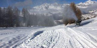 Gli Azzurri dello sci in allenamento a Madesimo dal 7 al 12 Febbraio - ©Skiareavalchiavenna.it