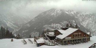 Fresh snow in Italy 20.12.16 - © Bardonecchia webcam