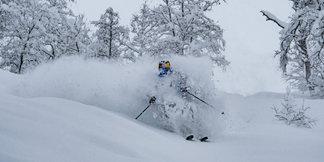 Her er det mest snø akkurat nå - ©Bård Basberg