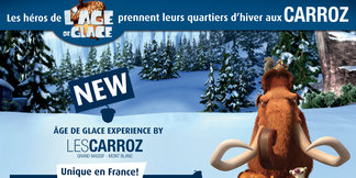 Âge de Glace© Experience by Les Carroz - ©© 20th Century fox – Bluesky, All rights reserved