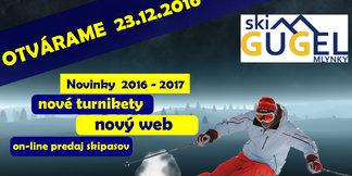 Gugel: Začiatok zimnej sezóny 2016/17 ©Ski centrum Gugel