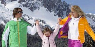 Topp skidestinasjoner for familier i de italienske alper - ©A. Trovati - Apt San Martino di Castrozza Passo Rolle