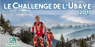 Le Challenge de l'Ubaye 2017 : le rdv ski alpinisme de l'Ubaye ©Ubaye Tourisme