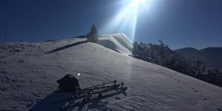 Výborné snehové podmienky vo Vrátnej - © Vrátna facebook