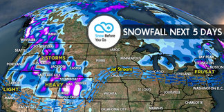 3.30 Snow Before You Go: White Room West, Northeast ©Meteorologist Chris Tomer