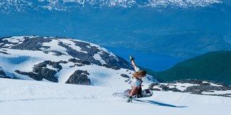Nyt vårværet med ski på bena - ©Daniel Tengs
