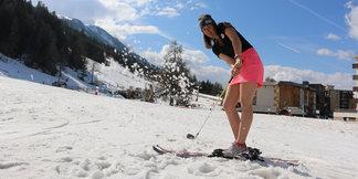 Ubaye Ski & Golf :  pour terminer la saison en beauté à Pra Loup ©Ubaye Tourisme - Marine Piranian