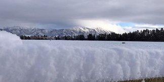 Neve fresca in Nuova Zelanda a metà Luglio! - ©Mt. Hutt Facebook