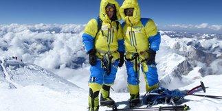 Stitzinger und von Melle erreichen gemeinsam ihren siebten Achttausender-Gipfel - ©Stitzinger | Melle | Marmot