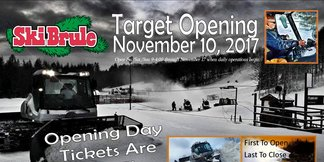 Ski Brule Is Open For Snowsports! ©Ski Brule Is Open!