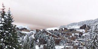 Snowfall in the Alps 25.10.17 - © Avoriaz/Facebook