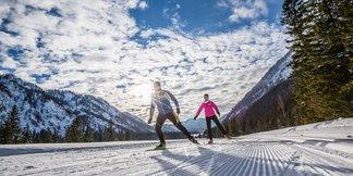 Langlaufen in de Chiemgau: een paradijselijk gebied voor beginnende en recreatieve langlaufers ©Chiemgau Tourismus