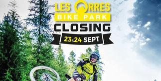 LES ORRES : La station fait son Bike Park Closing - ©Office de tourisme des Orres