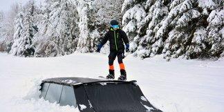 Strachan Ski Centrum otvorilo prvú skicrossovú trať svojho druhu na Slovensku! ©Strachan Ski Centrum