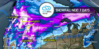 2.15 Snow Before You Go: Storm Cycle Reboots for West ©Meteorologist Chris Tomer