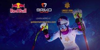 Briko: il casco di Coppa del Mondo è firmato Lindsey Vonn ©Briko.com