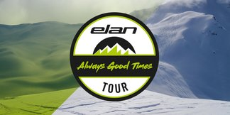 ''Always Good Times'': Elan-Skitest tourt durch die Skigebiete ©Elan Ski