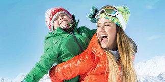 Aux Sybelles, à Noël, on skie en famille à prix doux ©SYBELLES.SKI