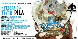 Il DEEJAY Xmasters Winter Tour torna a Pila