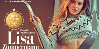 Freestyle-Queen im Playboy: Lisa Zimmermann zeigt sich freizügig ©Sascha Höchstetter für Playboy März 2018