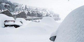 Burian e neve in arrivo nel weekend (24-25 Febbraio) ©Prato Nevoso Ski Facebook