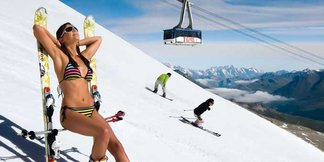 Gdzie na narty latem, czyli na lodowcach zima się nie kończy  ©Tignes