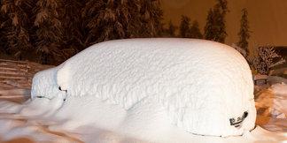 Épisode neigeux exceptionnel sur les Hautes-Alpes ©Facebook Vars
