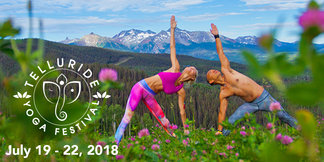 Colorado's Original Mountain Yoga Festival Announces 2018 Lineup & Schedule ©Telluride Ski Resort