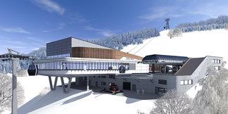 Offizieller Baustart für die K-onnection Kaprun-Maiskogel-Kitzsteinhorn - ©MAB Architektur Projektmanagement