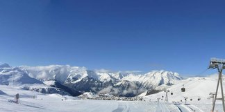 Snowcast for our top 20 ski resorts ©Alpe d'Huez/Facebook