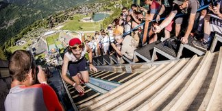 RED BULL 400, la course la plus raide du monde est de retour à Courchevel ©Vincent Curutchet / Red Bull Content Pool