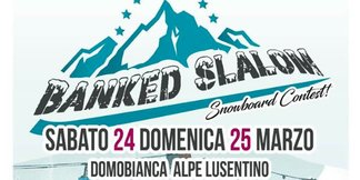Banked Slalom Snowboard Contest sulle piste di Domobianca ©www.domobianca.it