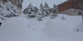 Gallery: Big snowfalls in the Alps ©Les Menuires/Facebook
