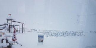 Es wird kalt und nass: Anfang nächster Woche heftiger Wintereinbruch? ©Facebook Stubaier Gletscher