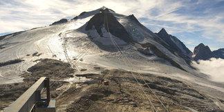 Ski d'automne : Tignes repousse l'ouverture de son glacier ©Webcam Roundshot / OT de Tignes