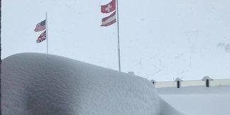 Prvý závan zimy v Alpách 27.-28.10.2018 - © FacebookPirovano Stelvio Facebook