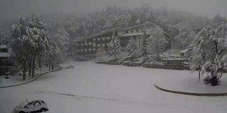 Prima neve in Abruzzo!  ©Prati di Tivo webcam